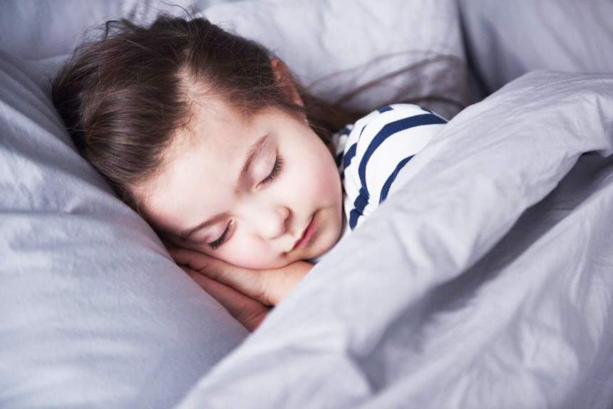 is your child sleeping well?