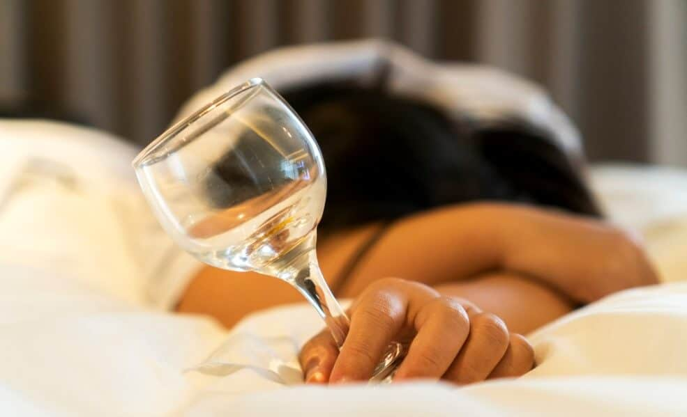 alcohol sleep apnea